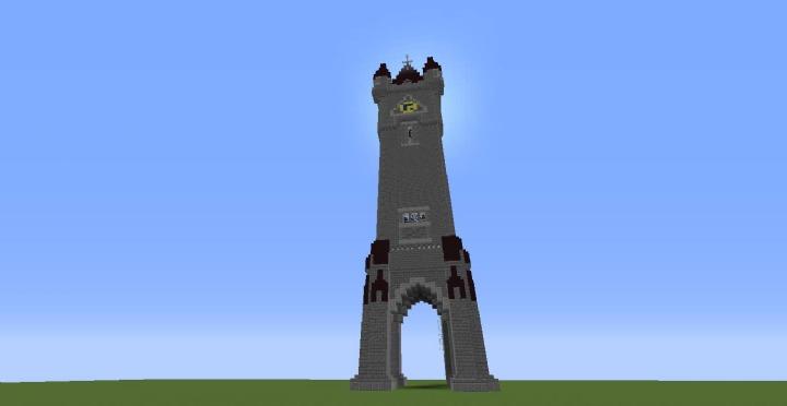 Insolite le ch teau de noisy sur minecraft mat l - Chateau de minecraft ...