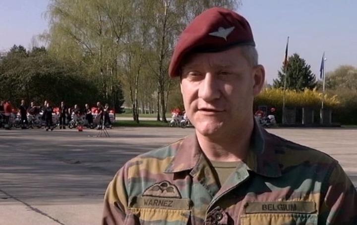 Flamands D 180 Ici Portrait Du Major Warnez Mat 233 L 233