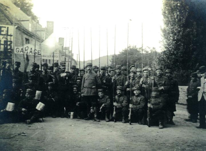 7 Ao U00fbt 1914  Les Soldats Fran U00e7ais  U00e0 La Rescousse Dans L