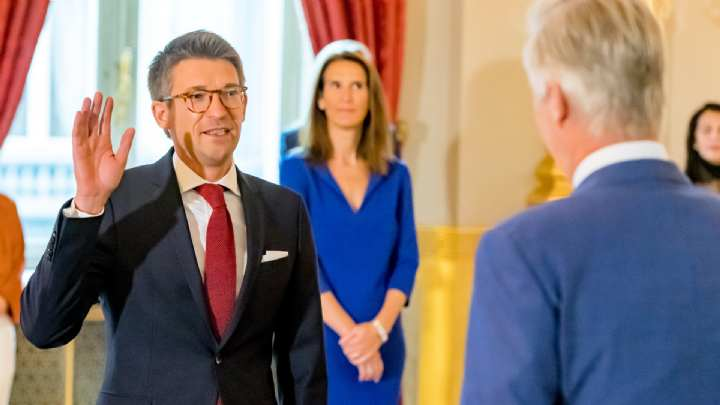 Le Rochefortois Pierre Yves Dermagne N 2 Du Gouvernement Federal C Est Une Grande Responsabilite Matele